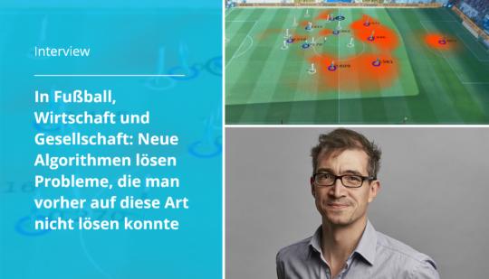 Prof. Ulf. Brefeld forscht nach neuen Methoden mit AI, Fotos Leuphana